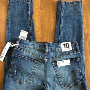Joe's Jeans Bottoms - Joe's Jeans Girls Distressed Straight Narrow 10